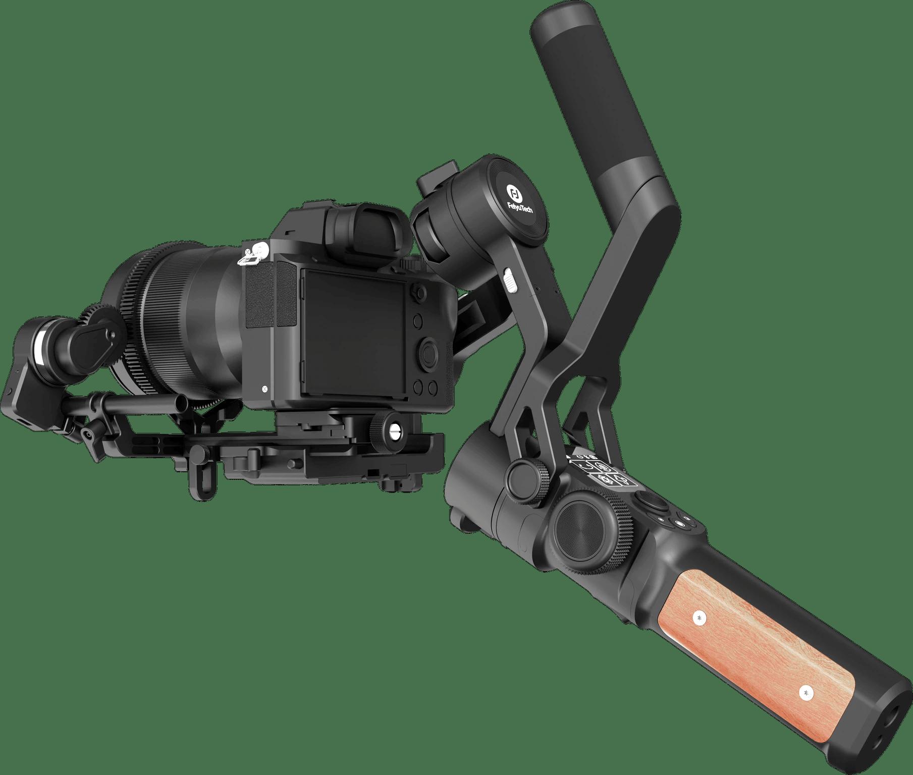 FeiyuTech-Feiyu-AK2000S-stabilisateur-de-cam-ra-DSLR-cardan-vid-o-de-poche-adapt-pour-Canon