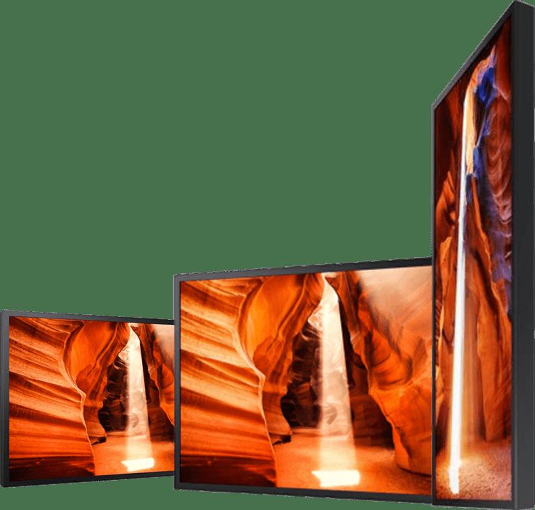 ecran affichage dynamique
