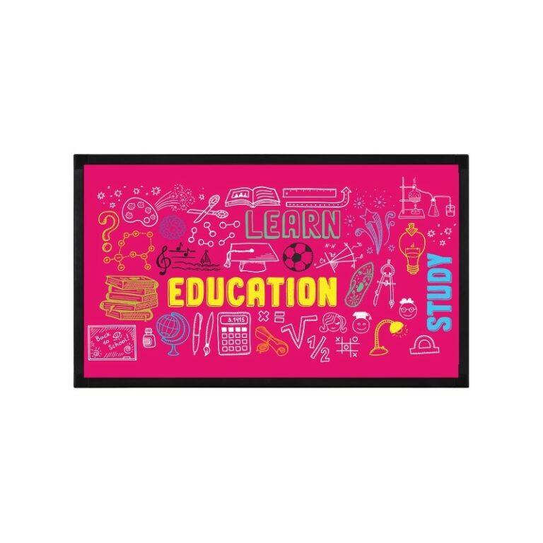 ecran affichage dynamique education