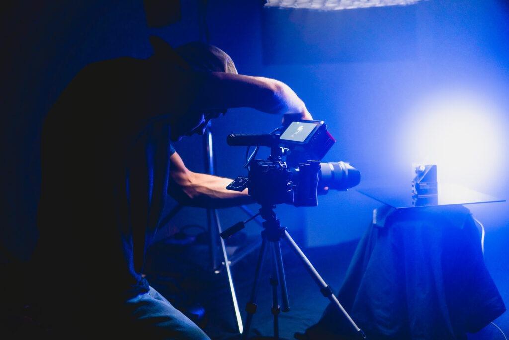 shooting photo studio