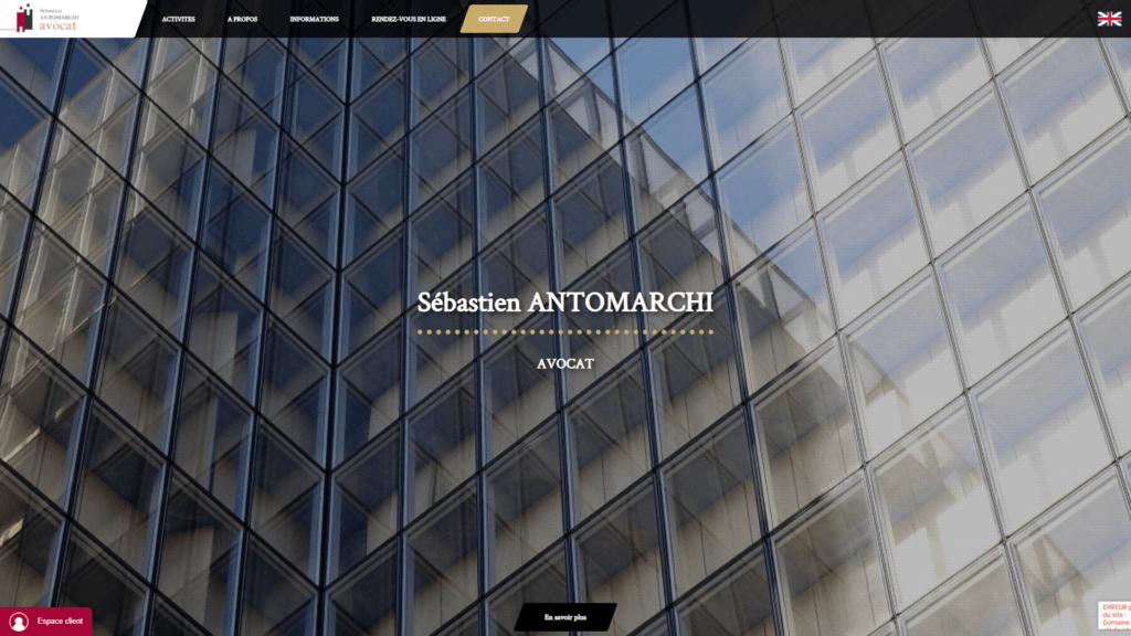 site réalisation antomarchi